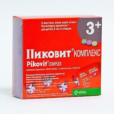 pikovit for children from 1 year reviews