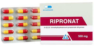 ripronate instruction for the use of the tablet formulation