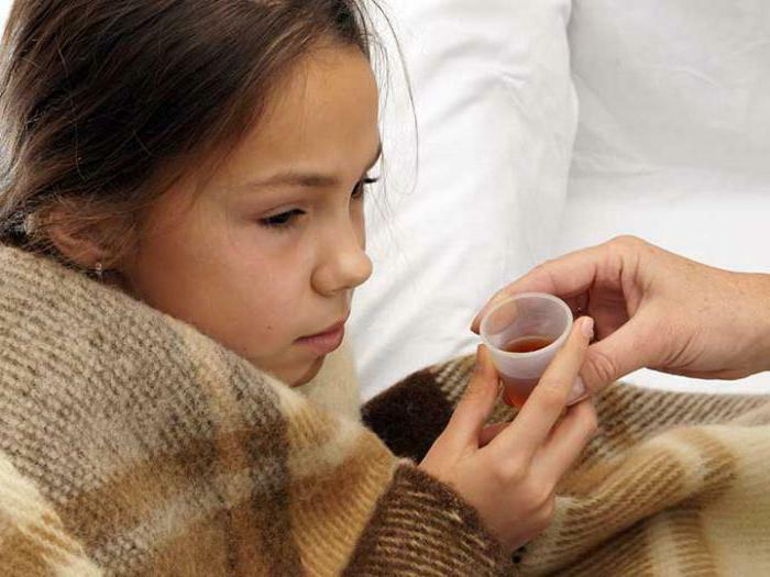 analyzes on pertussis and paracottitis in children