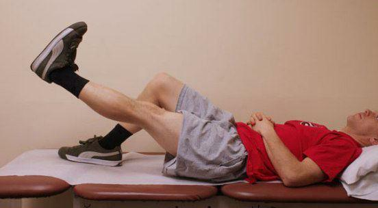 Physiotherapy exercises for arthrosis of the knee joint of the third degree