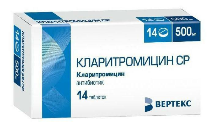 clarithromycin suspension dosage