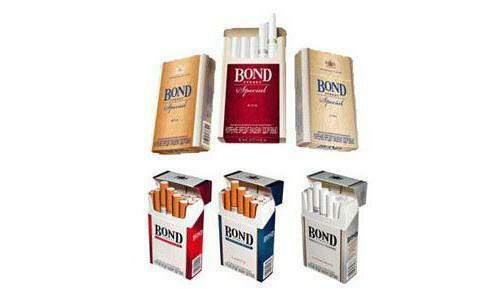 bond types of cigarettes