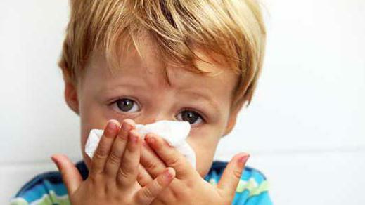 flu and symptoms in children