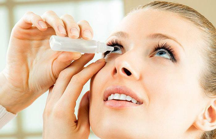 Eye drops to improve vision