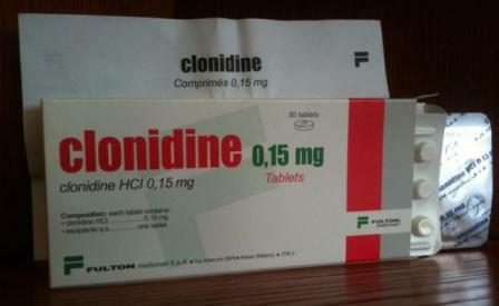 clonidine instructions for use in ampoules