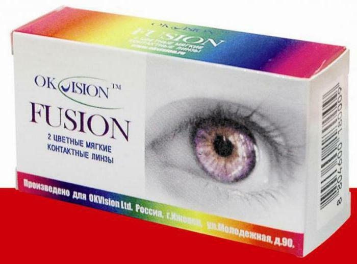 contact lenses okvision fusion