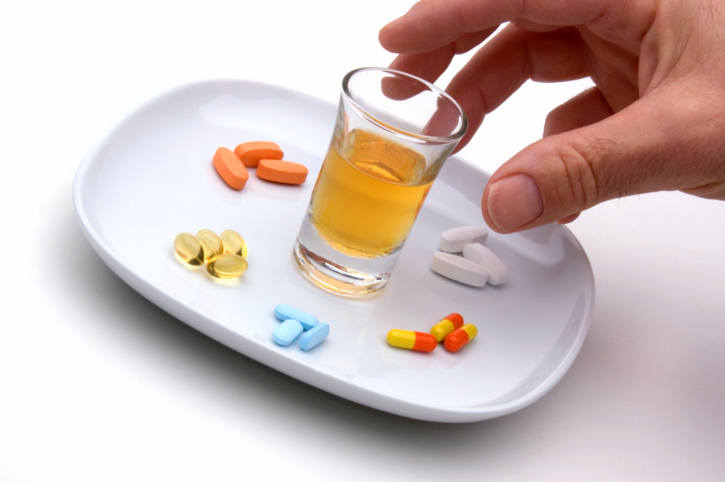 with isoprinosine can I drink alcohol