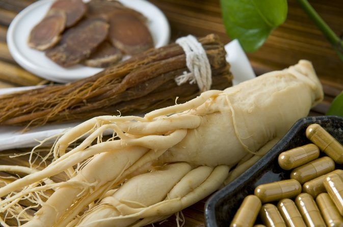 Ginseng to increase potency