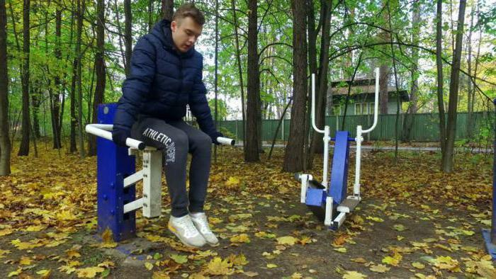 outdoor fitness equipment for the disabled