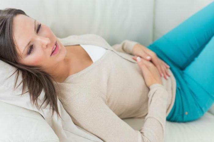 unpleasant odor and discharge from the navel in women