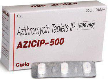Azithromycin Instructions for Use Capsules