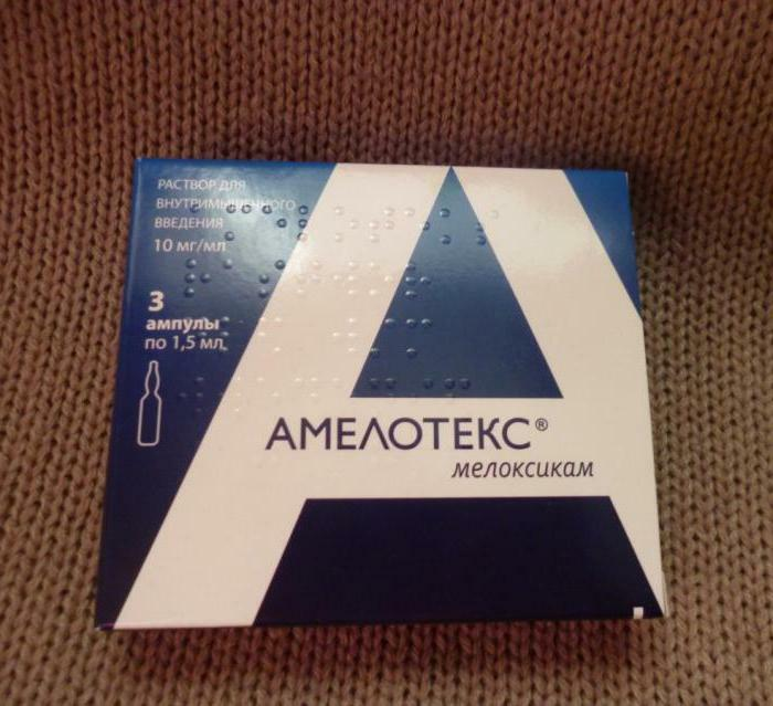 amelotex injections instruction