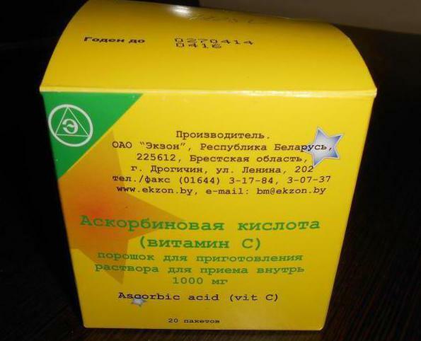 İlaç Askorbik asit (drajeler): kullanım ve açıklama talimatları 27